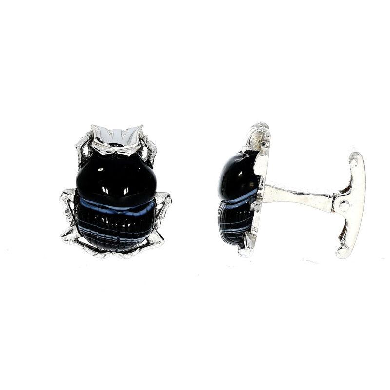 Beetle cufflinks